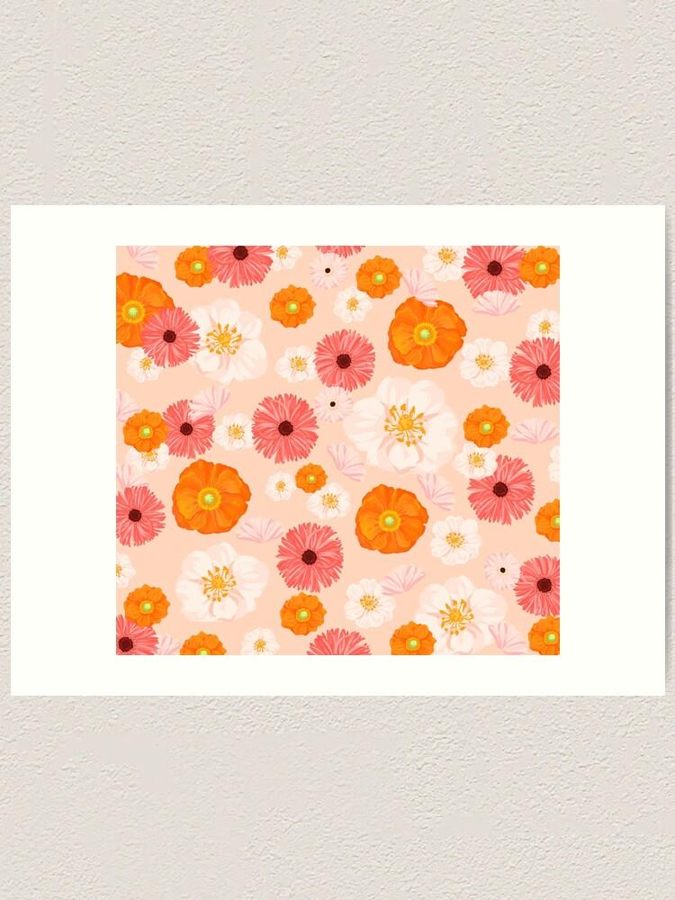 Alternate view of Coral Bloom Art Print