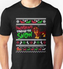 Dog Snow Christmas T-Shirt