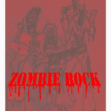 zombie rock band by blazedyasa
