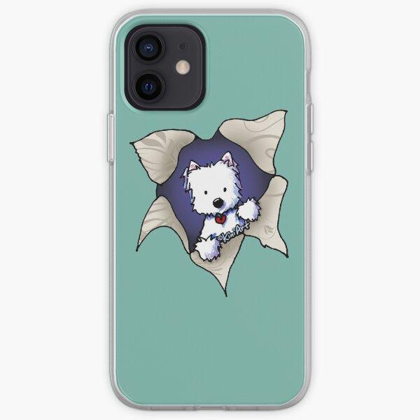 KiniArt Westie Blast iPhone Soft Case