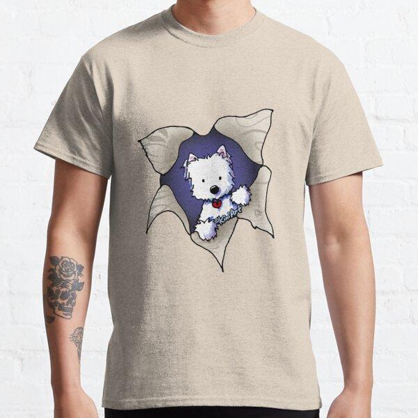 KiniArt Westie Blast Classic T-Shirt
