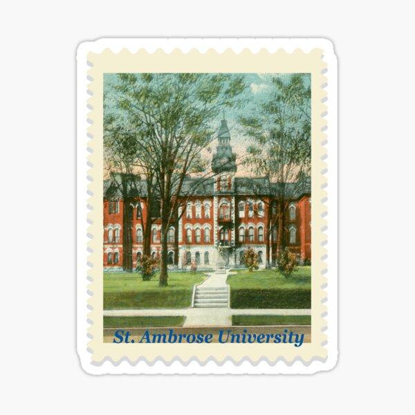 St Ambrose University Sticker Sticker