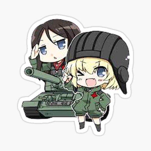 Girls Und Panzer chibi katyusha Sticker