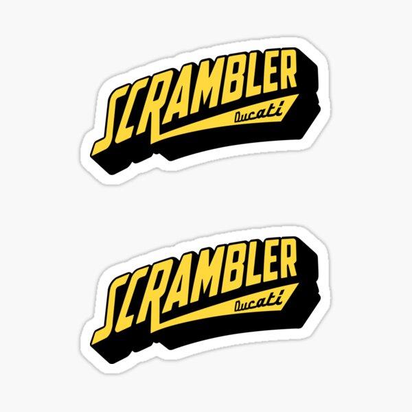 Chemise Scrambler, autocollant, sweat à capuche, masque Sticker