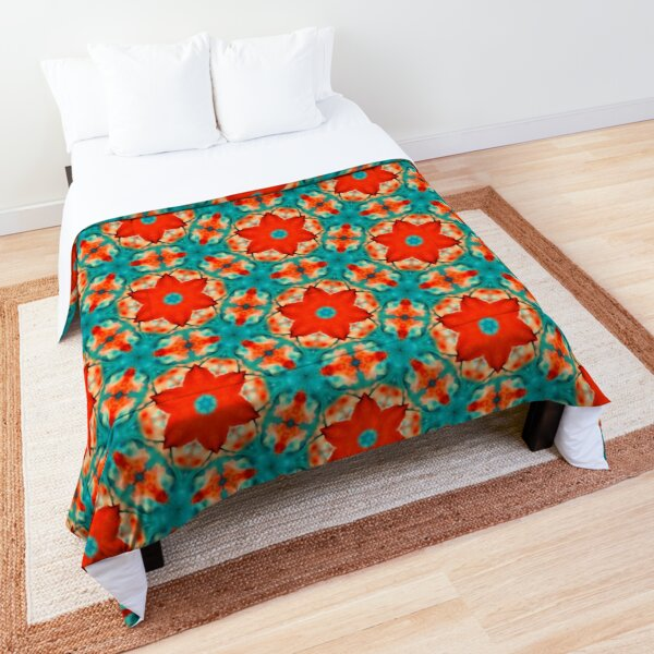 Floral Watercolor Pattern  Comforter