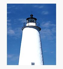 Ocracoke Light Photographic Print