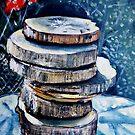 "Stacked Gravures sur bois 2 by Belinda ""BillyLee"" NYE (Printmaker)"