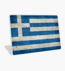 Flag of Greece - Retro vintage Laptop Skin