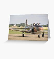 Jet Provost Greeting Card