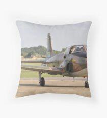 Jet Provost Throw Pillow