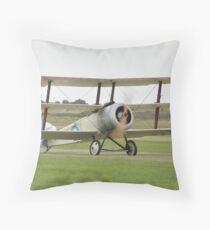 Sopwith Triplane Throw Pillow