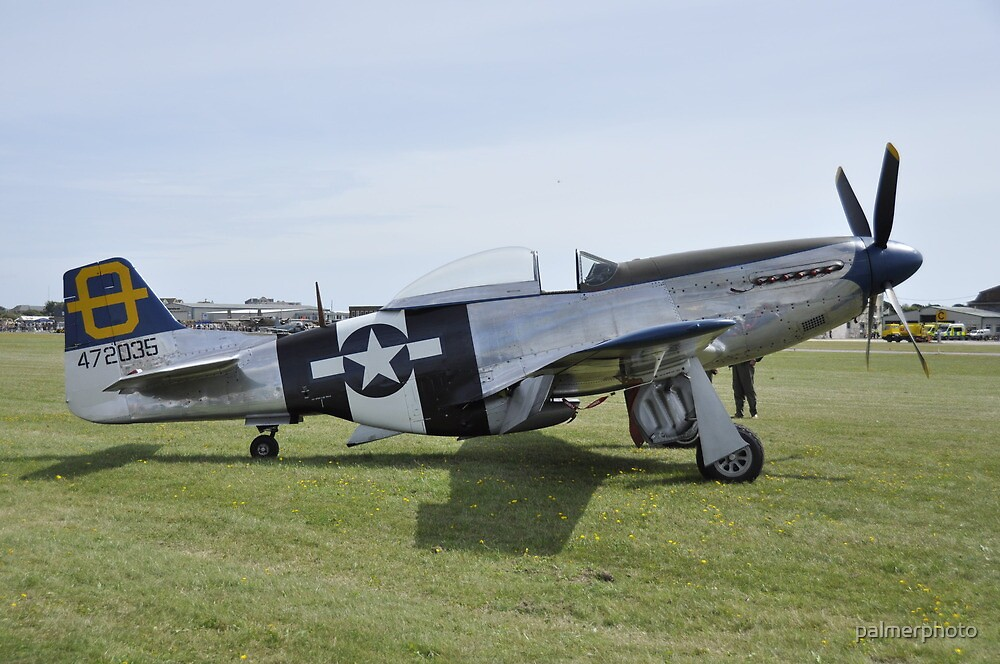 P51 Mustang by palmerphoto