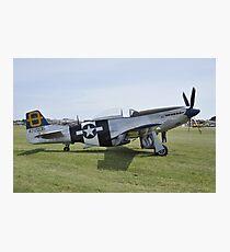 P51 Mustang Photographic Print