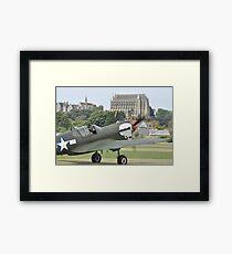 P-40M Kittyhawk G-KITT  Framed Print