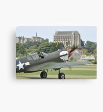 P-40M Kittyhawk G-KITT  Canvas Print