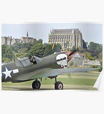 P-40M Kittyhawk G-KITT  Poster