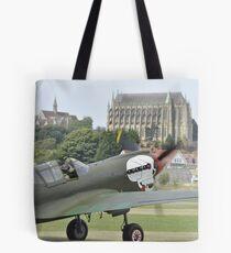 P-40M Kittyhawk G-KITT  Tote Bag