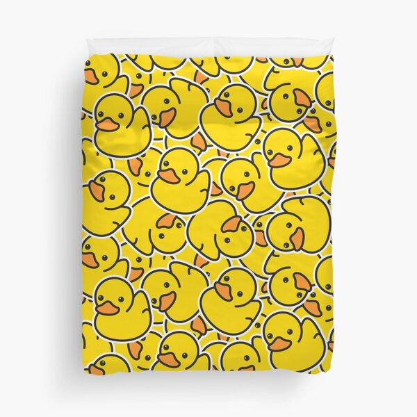 Yellow Classic Rubber Duck Duvet Cover