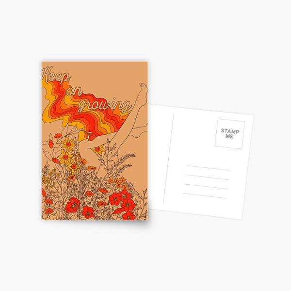 Keep on growing Postcard