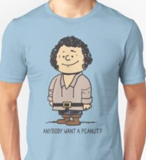 Anybody Want a Peanut? Slim Fit T-Shirt