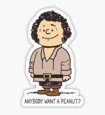 Anybody Want a Peanut? Sticker
