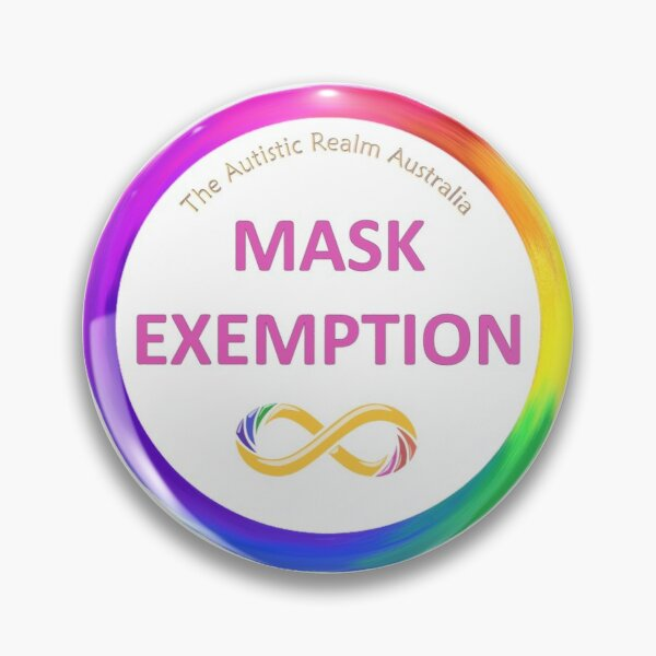 Mask Exemption Pink Pin