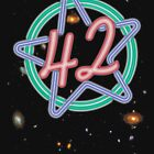 Hitchikers Guide to the Galaxy - 42 by Winxamitosis