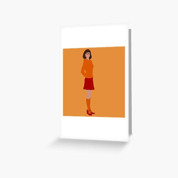Minimalist Velma Dinkley live action  Greeting Card
