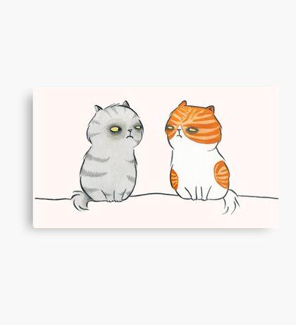 Kitty Cat Nemeses Metal Print