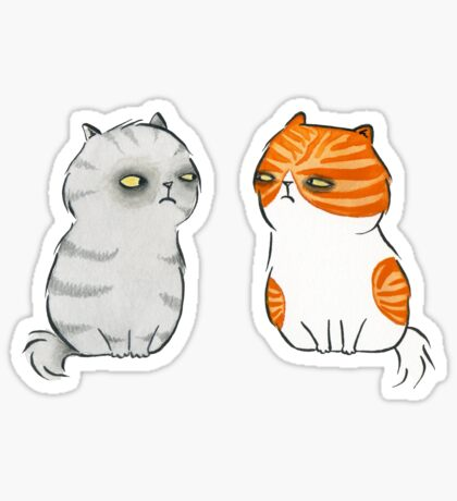 Kitty Cat Nemeses Sticker