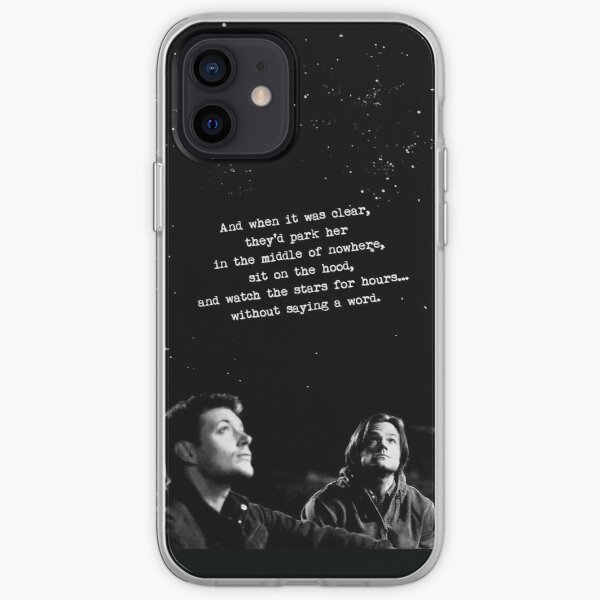 SAM, DEAN, BABY, AND STARS iPhone Soft Case