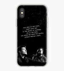 SAM, DEAN, BABY, AND STARS iPhone Case