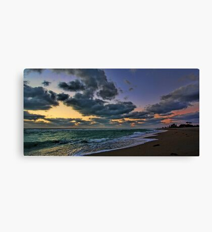 Clouds at Sunset - Venice,  Florida Canvas Print