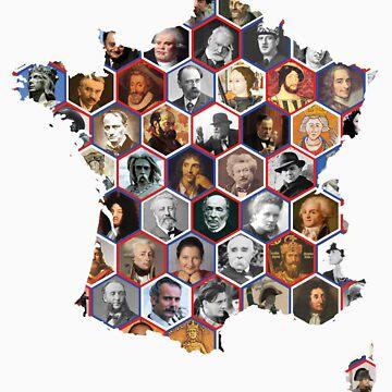 French hexagons by DrFrankenbaum