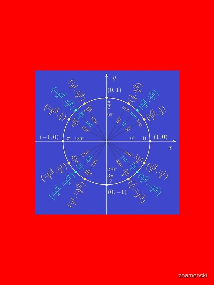 Unit circle angles. Trigonometry, Math Formulas, Geometry Formulas by znamenski