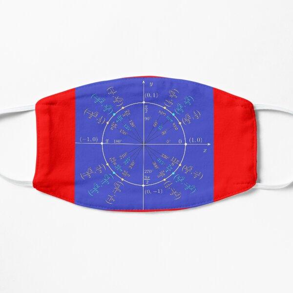 Unit circle angles. Trigonometry, Math Formulas, Geometry Formulas Flat Mask