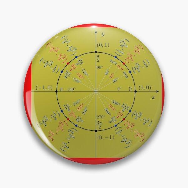 Unit circle angles. Trigonometry, Math Formulas, Geometry Formulas Pin