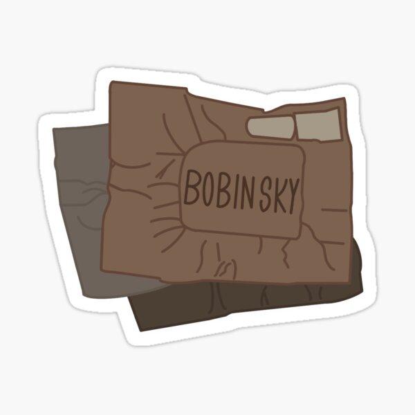 Bobinsky S Mail Sticker By Nessasstickers Redbubble