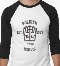 Shinra SOLDIER Final Fantasy VII Men's Baseball ¾ T-Shirt