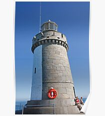 St Peters Port Guernsey lighthouse Poster