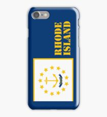 Iphone Case - State Flag of Rhode Island X iPhone Case/Skin