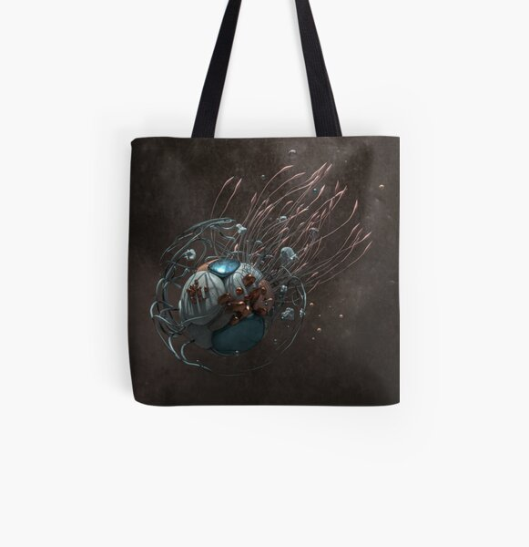Towards the light All Over Print Tote Bag