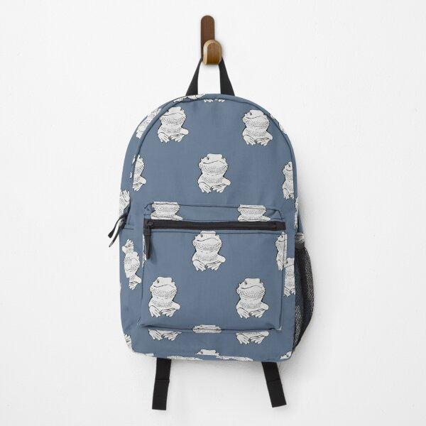 bearded dragon design Backpack