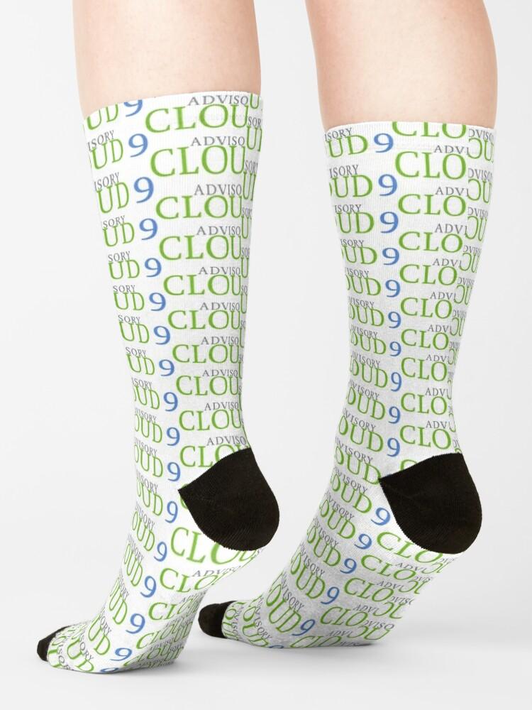 Alternate view of Cloud9 Advisory Socks