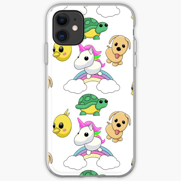 Adopt me package sticker iPhone Soft Case