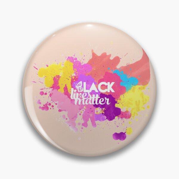 Black Lives Matter Multicolor Logo Pin