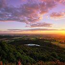 Sutton Bank sunset by PaulBradley