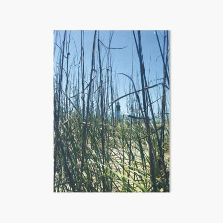 Tybee Lighthouse Art Board Print