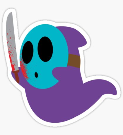 Shy Jason Sticker