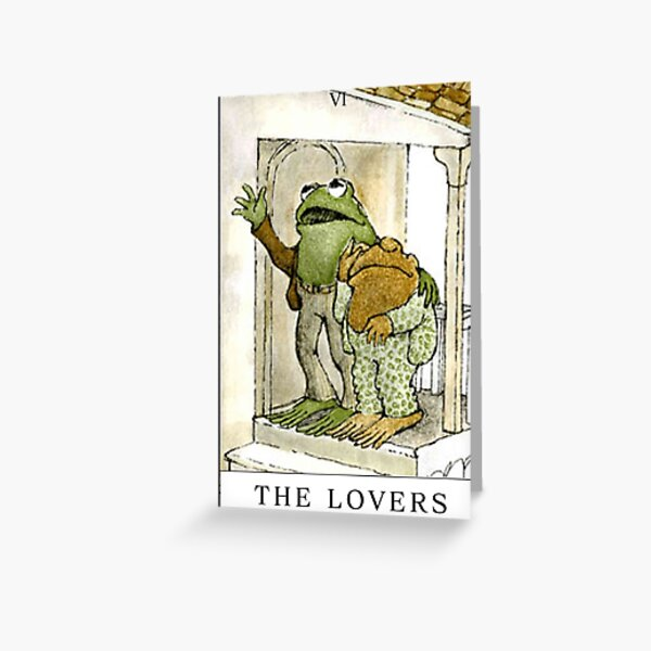 FROG AND TOAD THE LOVERS  Greeting Card